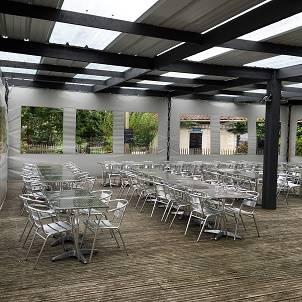 Fabrication de b ches sur mesure bordeaux atelier des toiles - Bache terrasse restaurant ...