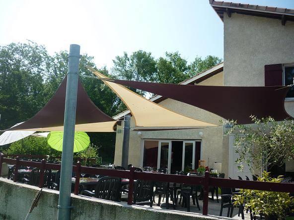 Acheter Voiles DOmbrage Pour La Terrasse De Votre Restaurant En